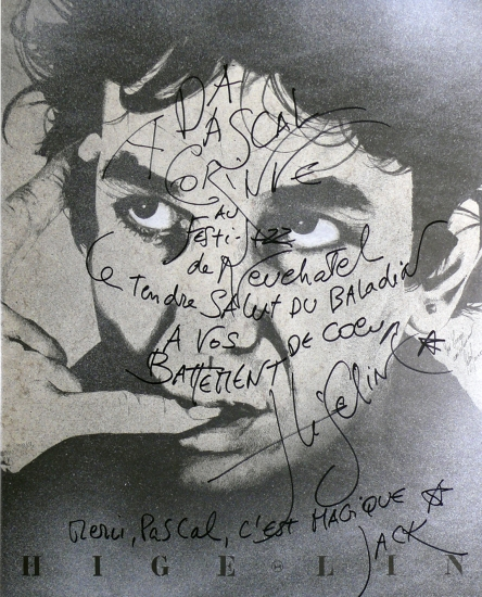 Jacques Higelin par Pastis